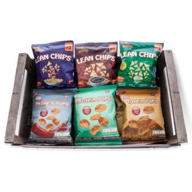 Pack Variado de Snacks de Proteína de 36 Pacotes
