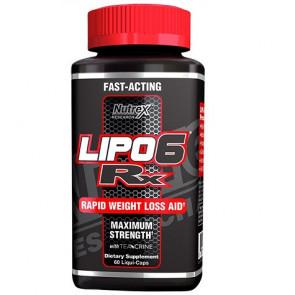 Lipo 6 Rx Fuerza Máxima 60 Cápsulas para perder peso Nutrex Research