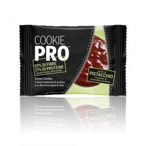 Biscoito Alevo Cookie Pro Pistachio Coberto com Chocolate Preto 13,6 g