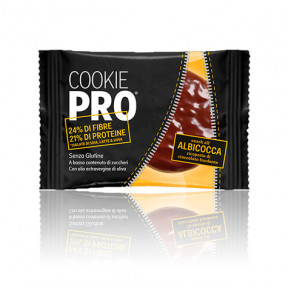 Biscoito Alevo Cookie Pro Damasco Cover Coberto com Chocolate Preto 13,6 g