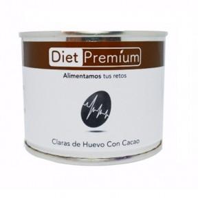 Claras de Huevo con Cacao en Lata Diet Premium 128 g