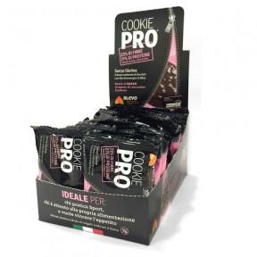 Pack de 24 Cookies Pro Cacao Recouverts de Chocolat Noir Alevo
