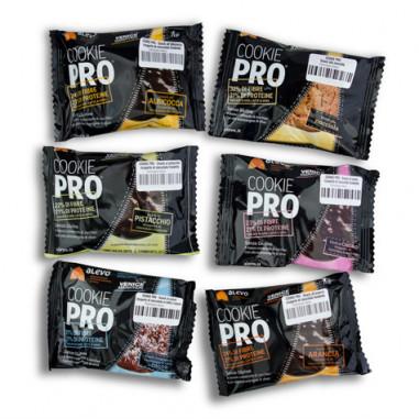 Pack Multisabor Biscoitos Cookie Pro Alevo 12 unidades