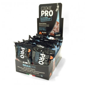 Pack of 24 Alevo Cookie Pro Covered with Milk Chocolate and Coco
