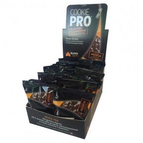 Pack de 24 Cookie Pro Orange Amère Recouvert de Chocolat Noir Alevo 13,6 g