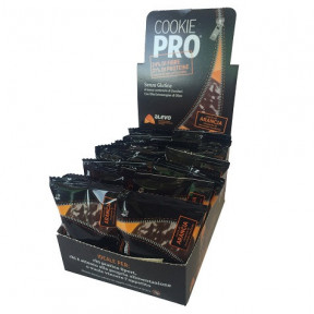 Pack of 24 Alevo Cookies Pro Orange Bitter Covered with Dark Chocolate