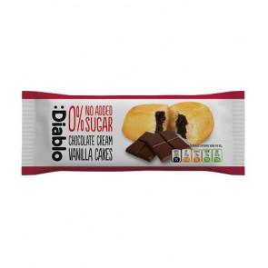 Bizcocho de Vainilla Relleno de Crema de Chocolate sin Azúcar Añadido :Diablo 50g