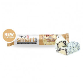Smart Bar Blondie (Brownie) de Chocolate Blanco PhD 64g
