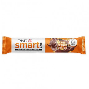 Smart Bar Brownie de Chocolate PhD 64g