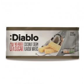 Bolachas Recheadas com sabor Creme de Coco sem Adição de Açúcar :Diablo 220 g