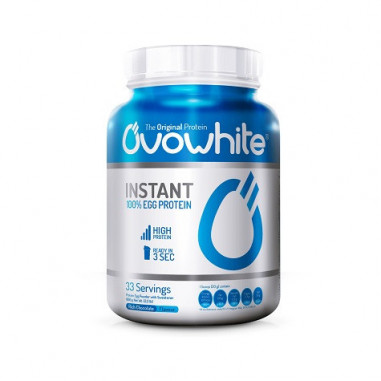 OvoWhite Instant 100% Egg Protein Cookies and Cream 1 Kg