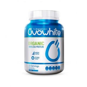 Proteína Instantánea de Clara de Huevo Orgánica sabor Natural OvoWhite 453g