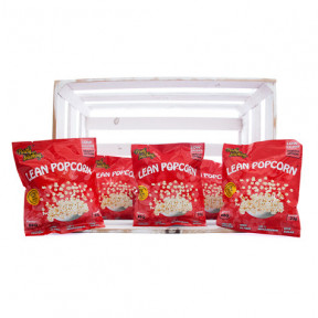 Pack de 36 Lean Popcorn Palomitas Proteinadas Barbacoa Purely Snacking