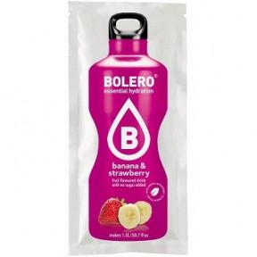 Boissons Bolero goût Banane et Fraise 9 g