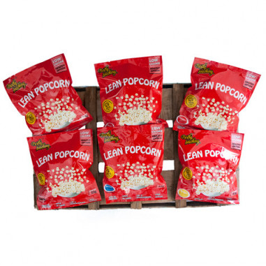 Pack Variado de Lean Popcorn (Pipoca de Proteina) de 36 Pacotes