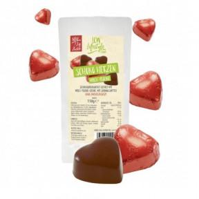 Bombones low-carb de chocolate con leche y praliné 110 g LCW