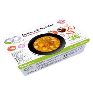 Poulet aux Légumes Go Natur Food 300 g