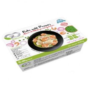 Filets de Merlu avec Gambas Go Natur Food 320 g