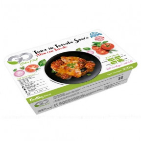 Atum em Molho de Tomate Go Natur Food 300 g