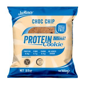 Galleta Proteica con Pepitas de Chocolate Justine's 64 g