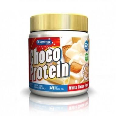 Pâte à tartiner au Chocolat Blanc Choco Protein Quamtrax 250 g