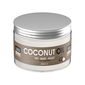 Aceite de Coco Virgen Certificado Cocofina envase Pet 450 ml