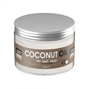 Cocofina Organic Virgin Coconut Oil Pet Container 450 ml