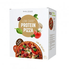 Preparado para Pizza LowCarb Body Attack 157g