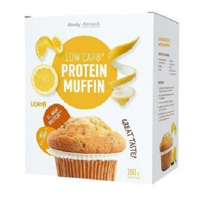 Body Attack LowCarb Lemon Protein Muffin Mix 150g