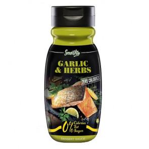 Salsa Ajo y Finas Hierbas 0% Servivita 320 ml
