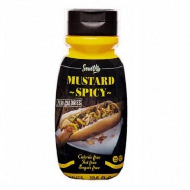 Servivita 0% Spicy Mustard Sauce 320 ml