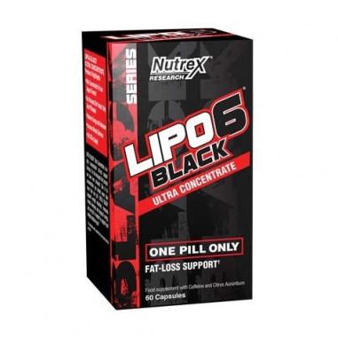 Lipo 6 Black Ultra Concentrado 60 Cápsulas para perder peso Nutrex Research