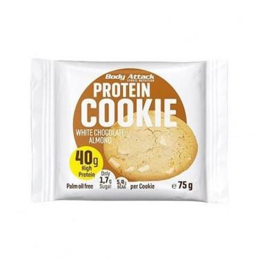 Biscuit Protéiné goût Biscuits amande et chocolat blanc Body Attack 75g