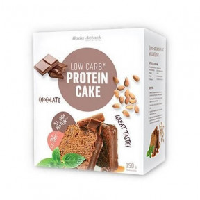 Preparado para Bizcocho Proteico LowCarb Body Attack Chocolate 150g