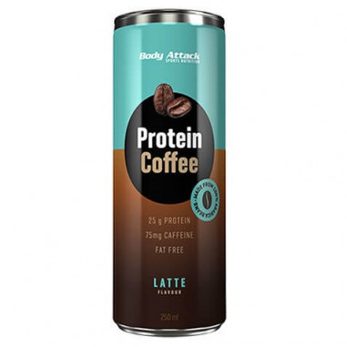 Body Attack Latte Protein Coffee 250 ml