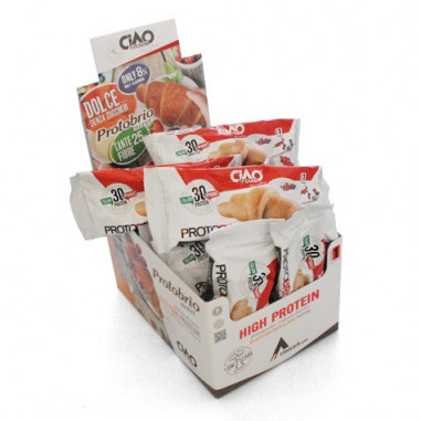Pack of 40 CiaoCarb Plain Sweet Protobrio Stage 1 Croissant