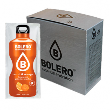 Pack 24 Bolero Drinks Laranja e Cenoura