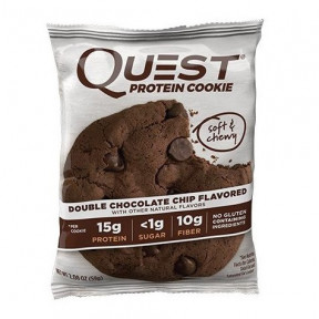 Galleta Proteica con Doble Chocolate Quest Nutrition 59 g
