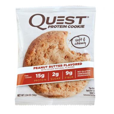 Biscoito de Proteína de Manteiga de Amendoim Quest Nutrition 59 g