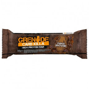 Barrita Proteica Carb Killa sabor Brownie Fundido Grenade 60 g