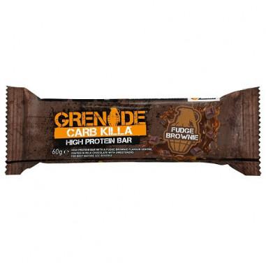 Barrita Proteica Carb Killa sabor Brownie Fundido Grenade 60 g