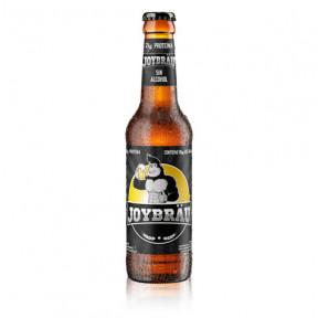 Cerveja Protéica Joybräu garrafa de vidro 330ml