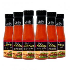 Pack de 6 Sauces Ketchup 0% 2bSlim 250 ml