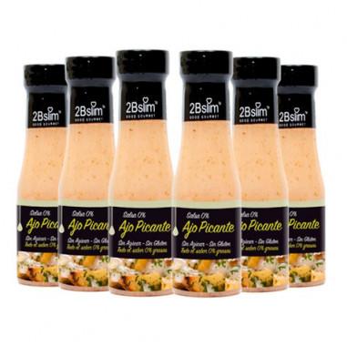2bSlim 0% Spicy Garlic Sauce 250 ml 6 Pack