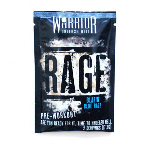 Warrior Pré Treino Rage 17.2 g
