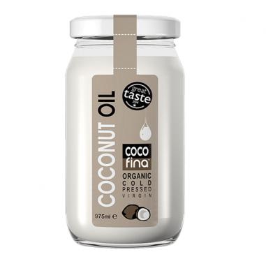 Aceite de Coco Virgen Ecológico Cocofina Envase Cristal 350 ml