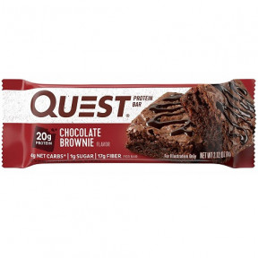 Barrita Proteica Sabor Brownie Quest 60g
