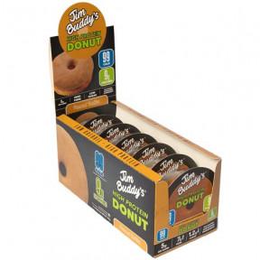 Pack de 6 Jim Buddy's Donut de Proteína Sabor Manteiga de Amendoim
