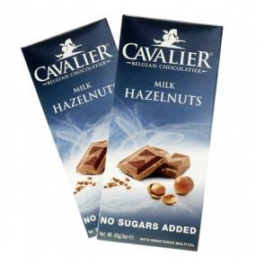Tableta de Chocolate con Leche y Avellanas Cavalier 85 g