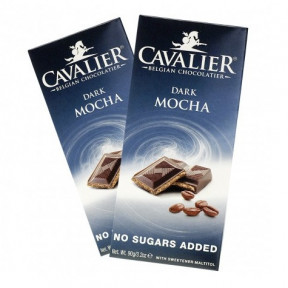 Cavalier Dark Chocolate whit Mocha 90 g